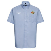 933MCC Oxford Short Sleeve Mens Shirt Corvette Club